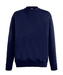 Afbeelding van Lightweight set-in sweatshirt Fruit of the Loom Deep Navy