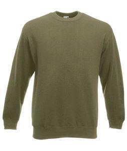 Afbeelding van Premium set-in sweatshirt Fruit of the Loom Classic Olive
