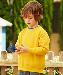 Afbeelding van Premium set-in Kids sweatshirt Fruit of the Loom
