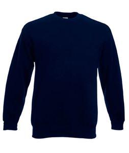 Afbeelding van Premium set-in Kids sweatshirt Fruit of the Loom Deep Navy