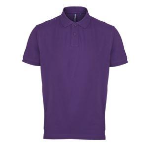 Afbeelding van Asquith & Fox Men's Polo Purple