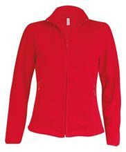 Picture of Maureen - Dames Fleece met rits Kariban Red