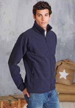 Picture of Marco - Zware fleece met rits Kariban Navy