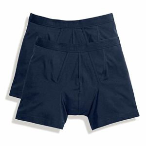 Afbeelding van 2 pack Classic Boxer Shorts Fruit of the Loom Navy