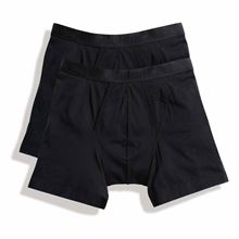Picture of 2 pack Classic Boxer Shorts Fruit of the Loom Black