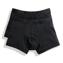 Picture of 2 pack Classic Shorty Fruit of the Loom Black