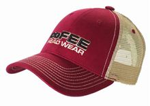 Picture of Mesh Cap Burgundy / Khaki