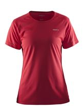 Picture of Craft Prime Tee Dames Hardloopshirt Red