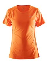 Picture of Craft Prime Tee Dames Hardloopshirt Flourange