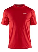 Picture of Craft Prime Tee Mannen Hardloopshirt Red