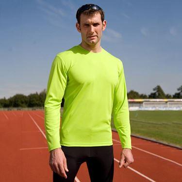 Picture of Sneldrogend Heren Sport T-shirt lange mouw