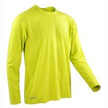 Picture of Sneldrogend Heren Sport T-shirt lange mouw Lime Green