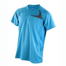 Picture of Spiro dash training shirt voor Mannen Aqua / Grey