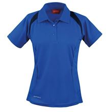 Picture of Dames team polo Spirit Royal / Navy