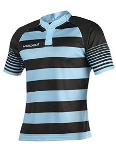 Afbeelding van Kooga Touchline Hooped Match Rugby Shirt