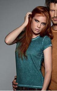 Afbeelding van T-Shirt DNM plug in Women B&C