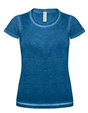 Picture of T-Shirt DNM plug in Women B&C Blue Clash