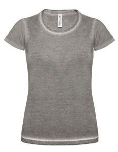 Afbeelding van T-Shirt DNM plug in Women B&C Grey Clash