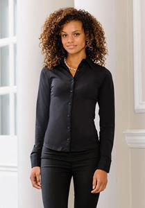 Afbeelding van Long Sleeve Stretch Top Russell Collection