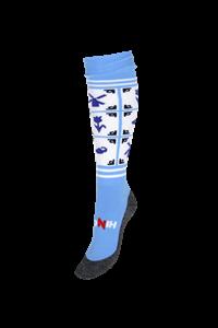 Afbeelding van Steden / Prov. Trainings Sokken Delft Blue