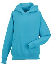 Picture of Kids Hooded Sweatshirt Russel Turquoise