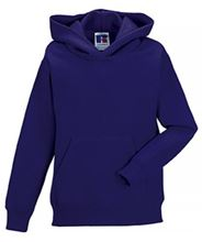 Picture of Kids Hooded Sweatshirt Russel Purple