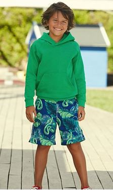 Picture of Kids lightweight hooded Sweat Fruit of the Loom