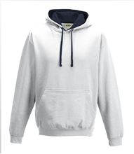 Picture of Varsity Hoodie Arctic White - New French Navy