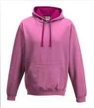 Picture of Varsity Hoodie Candyfloss Pink - Hot Pink