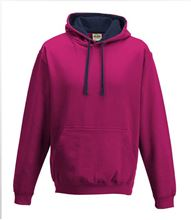 Picture of Varsity Hoodie Hot Pink - French Navy
