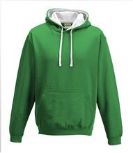 Picture of Varsity Hoodie Kelly Green - Arctic White