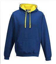 Picture of Varsity Hoodie Royal Blue - Sun Yellow