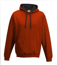 Picture of Varsity Hoodie Fire Red - Jet Black