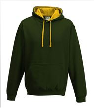 Picture of Varsity Hoodie Forrest Green - Gold