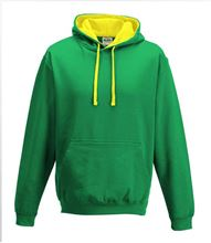 Picture of Varsity Hoodie Kelly Green - Sun Yellow