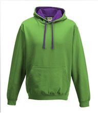 Picture of Varsity Hoodie Lime Green - Magenta Magic