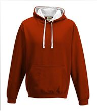Picture of Varsity Hoodie Fire Red - Arctic White
