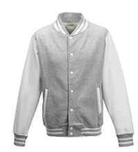 Picture of Base Ball Jacket  Grijs-Wit