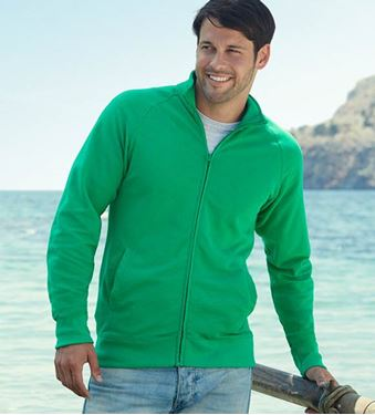 Picture of Lightweight Sweat Jacket Fruit of the Loom