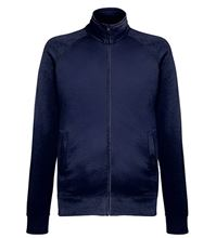 Picture of Lightweight Sweat Jacket Fruit of the Loom Deep Navy