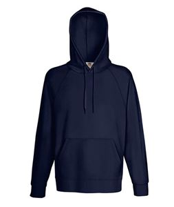Afbeelding van Fruit of the Loom Lightweight Hooded Sweatshirt Deep Navy