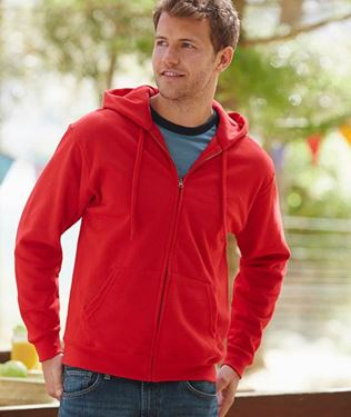 Picture of Fruit of the Loom Classic Hooded Sweat Jacket