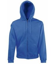 Picture of Fruit of the Loom Classic Hooded Sweat Jacket Royal Blue