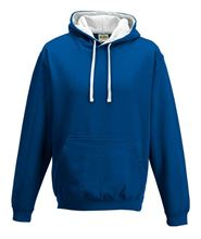 Picture of Varsity Hoodie Royal Blue - Arctic white