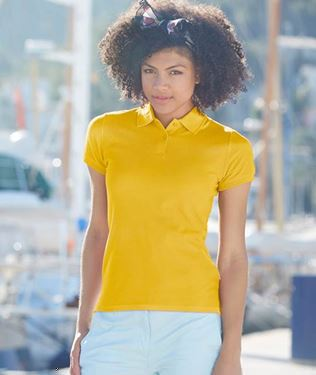 Picture of Lady-fit Premium Polo Fruit of the Loom