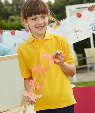 Picture of Kids 65/35 Pique Polo Fruit of the Loom