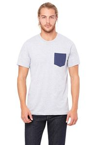 Afbeelding van Men´s Jersey short sleeve Pocket T-shirt