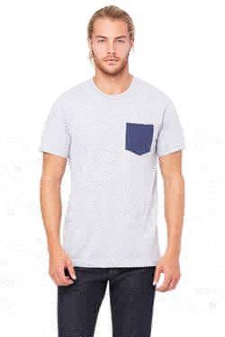 Picture of Men´s Jersey short sleeve Pocket T-shirt
