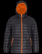Picture of Padded Jacket van 2786 Black / Orange