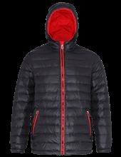 Picture of Padded Jacket van 2786 Black / Red